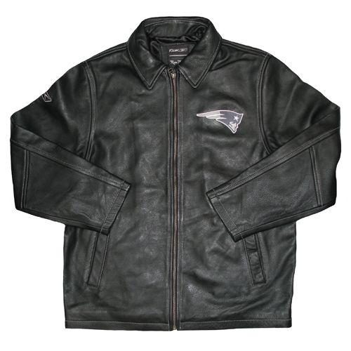 RBK Solid Leather Jacket