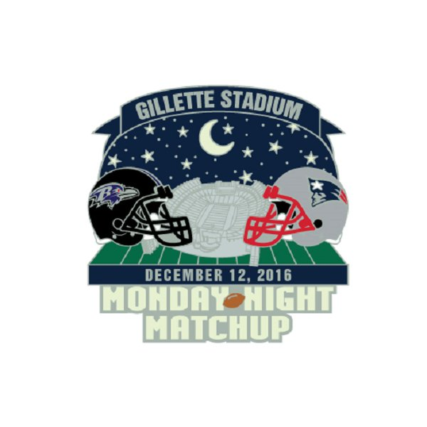 Patriots/Ravens Game Day Pin