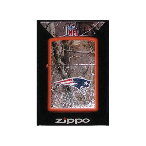 Realtree Hunter Orange Zippo Lighter