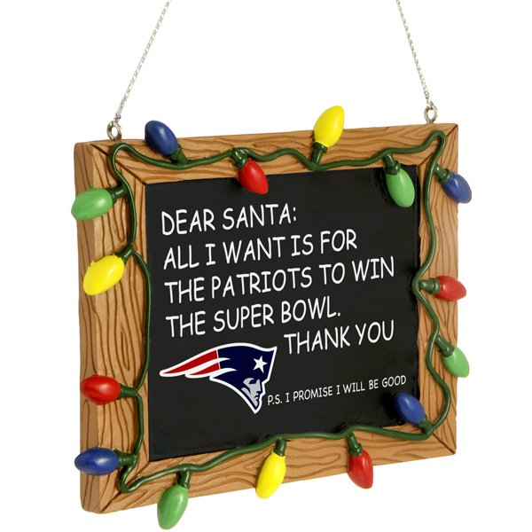 Resin Chalkboard Sign Ornament