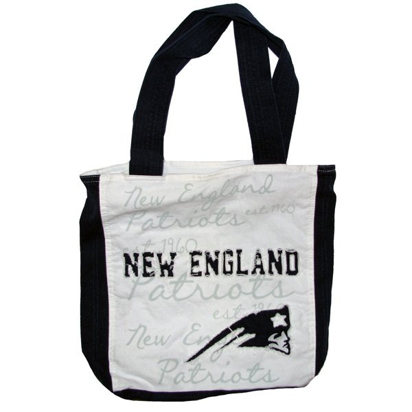 Patriots Reverse Applique Tote
