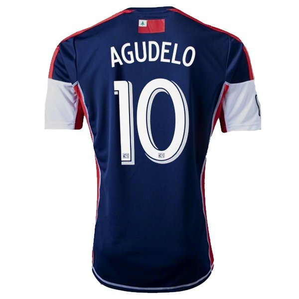 Juan Agudelo 2013 Revolution Home Jersey