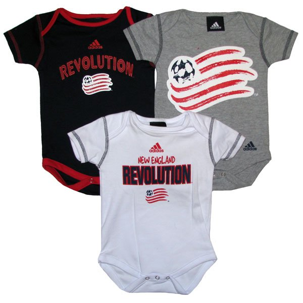 Revs Infant Body Suits - 3 Pack