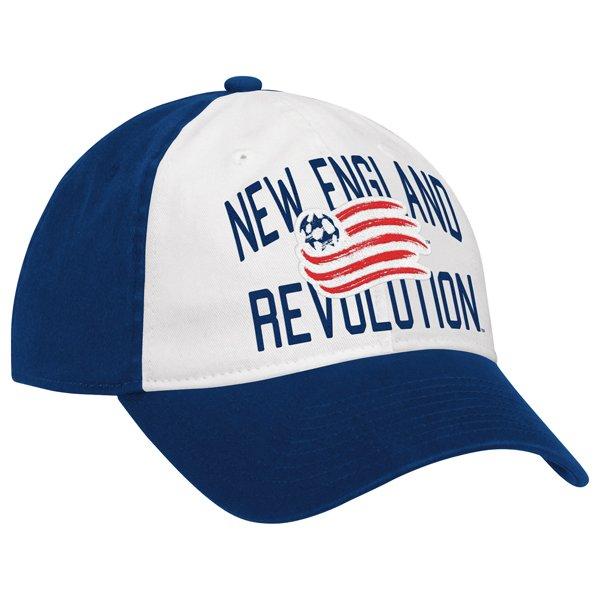 Revolution Pembroke Slouch Flex Cap-White/Navy