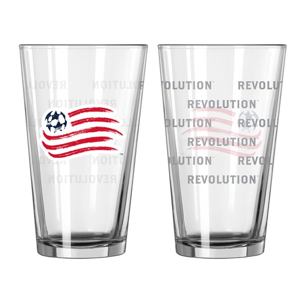 Revolution 16oz Satin Etch Pint Glass