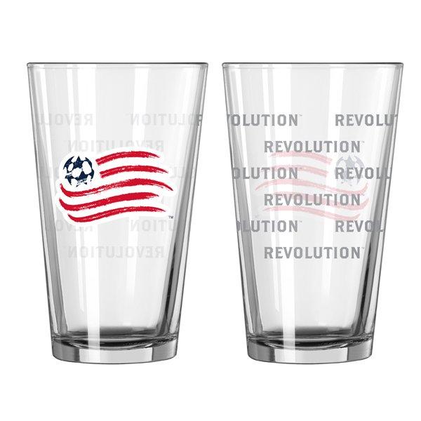 Revolution 16oz Satin Etch Pint Glass