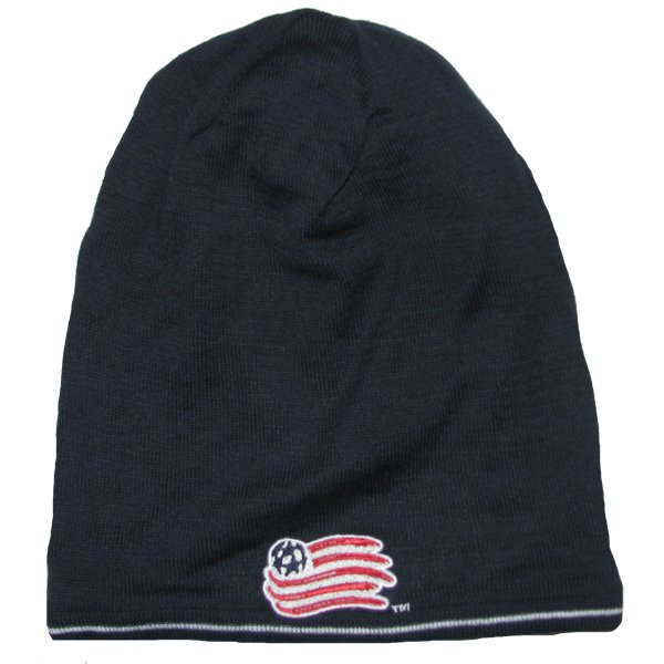 Revolution 2013 Player Knit Hat-Navy/Gray