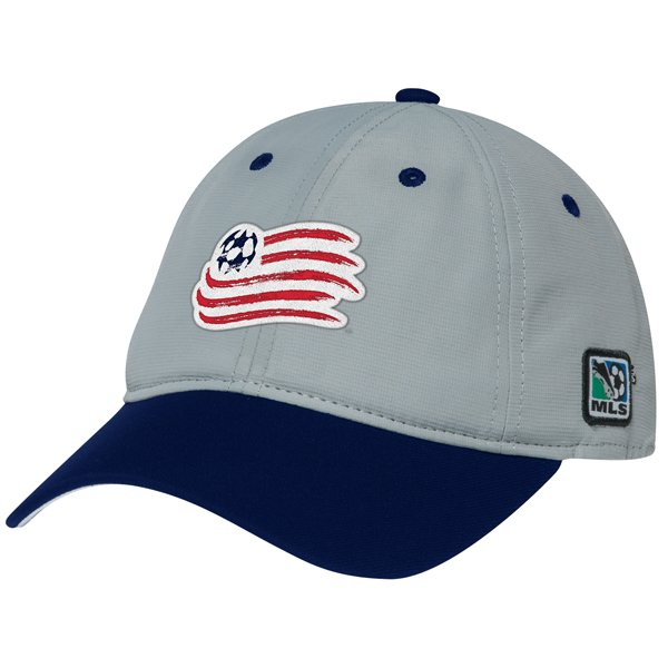 Revolution 2014 Coaches Cap-Gray/Navy