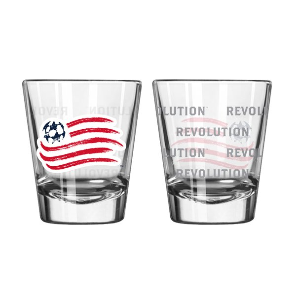 Revolution 2oz Satin Etch Shot Glass