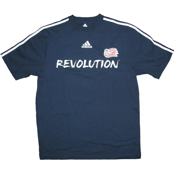 Revolution Basic Tee-Navy