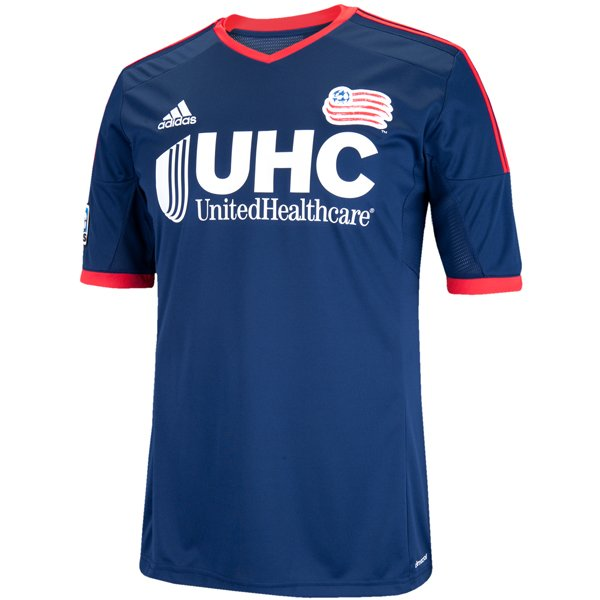 Revolution Custom 2014/15 Home/Navy Replica Jerseys