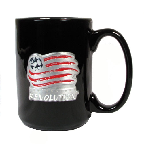 Revolution 15 oz Black Mug