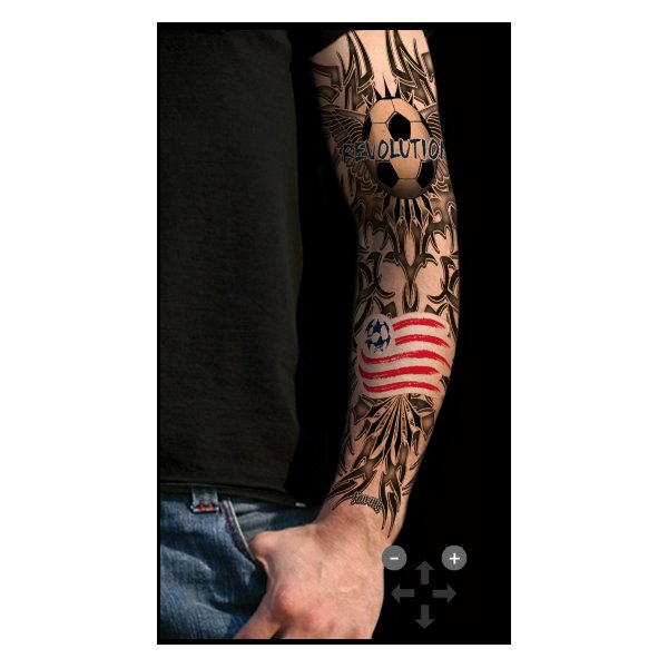 Revolution Sleeve Tattoo