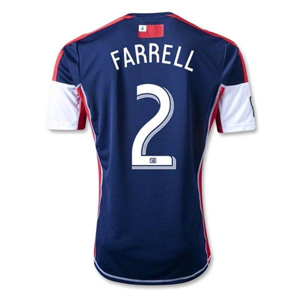 Andrew Farrell 2013 Revolution Home Jersey