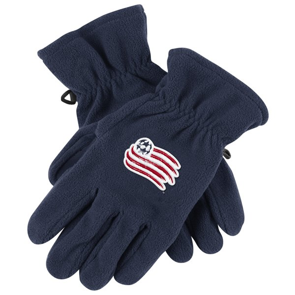 Revolution Fleece Gloves-Navy