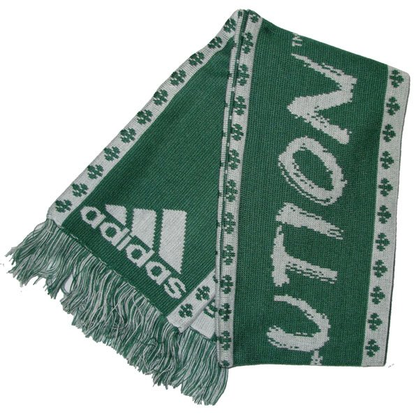 Revolution Green & White Scarf