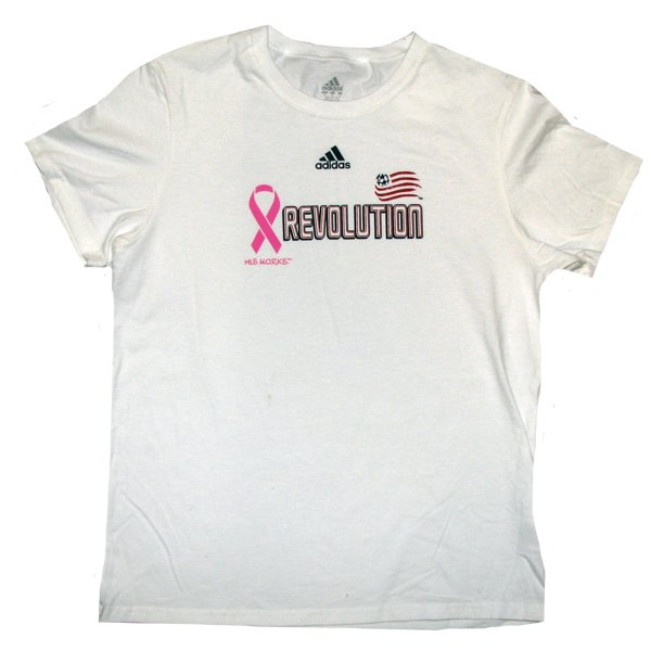Revolution Ladies BCA Ribbon Tee-White