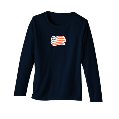 Revolution Ladies LS Top-Navy