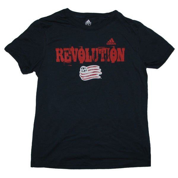 Revs Ladies Roughed S/S Tee-Navy