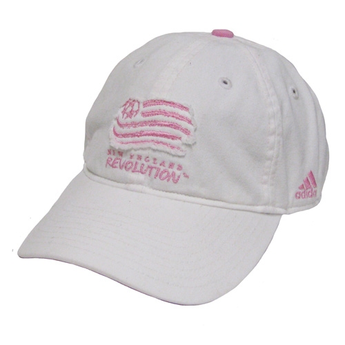 Ladies Revolution Cap-White/Pink