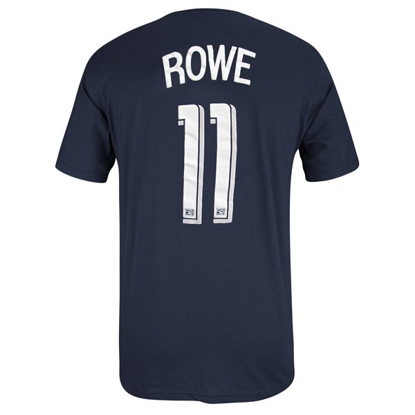 Rowe #11 Name & Number Tee-Navy
