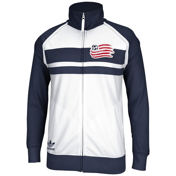 Revolution Track Jacket-White/Navy