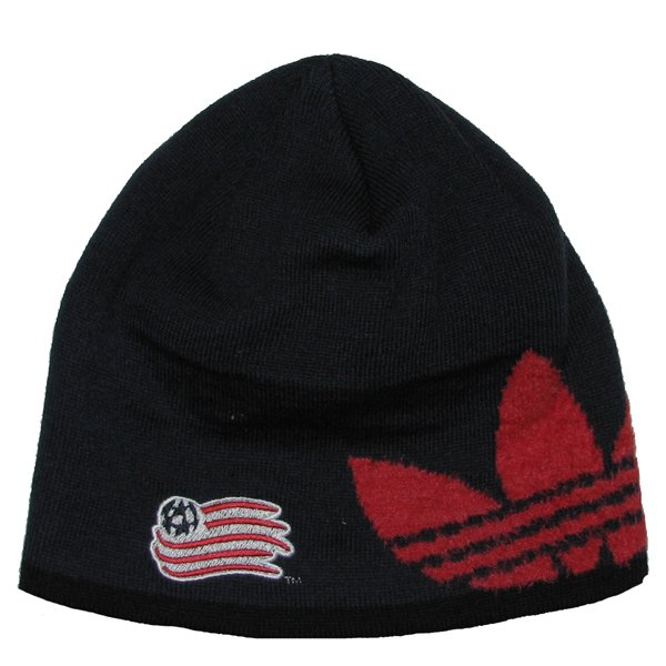Revolution Trifold Knit Hat-Navy/Red