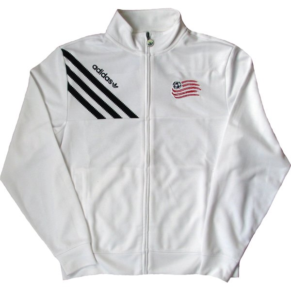 Revolution White Track Jacket-White