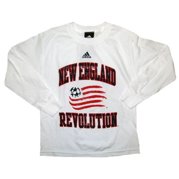 Youth Revolution Distressed L/S Tee-White