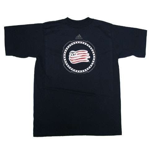 Yth Revs Full Armored Tee-Navy