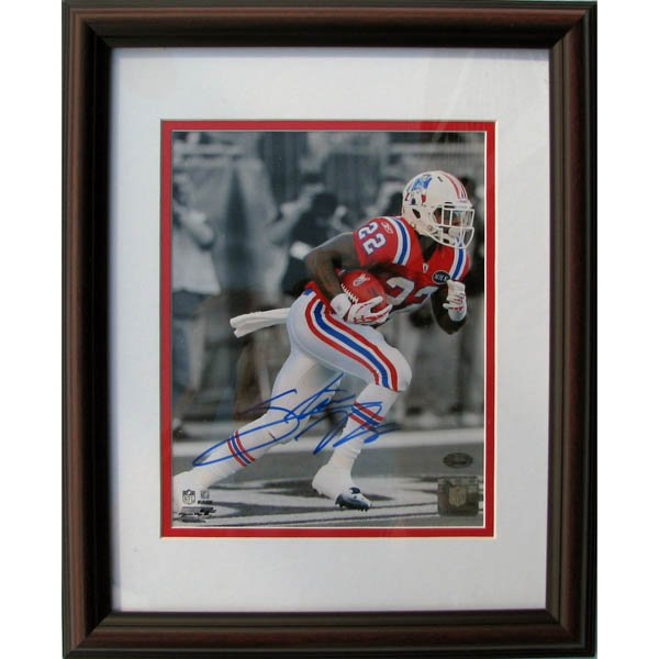 Stevan Ridley Autographed Framed Photo