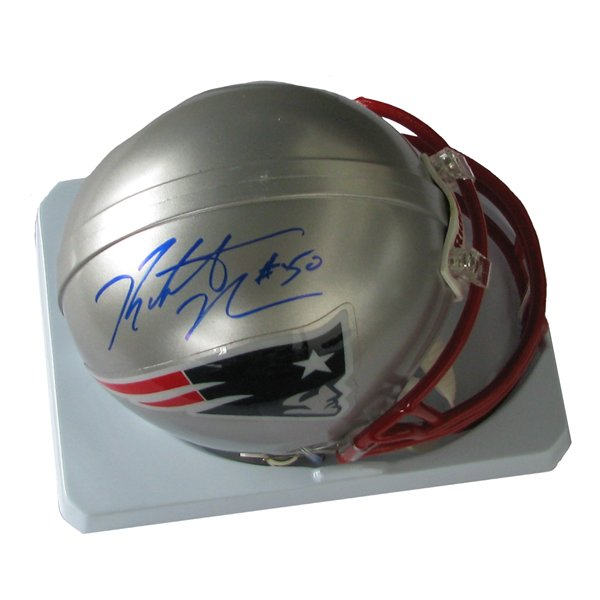 Rob Ninkovich Signed Mini Helmet