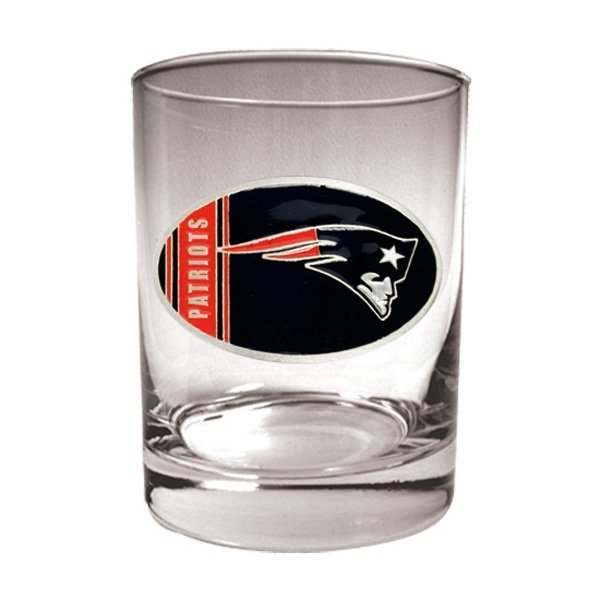 Patriots 14oz Rocks Glass