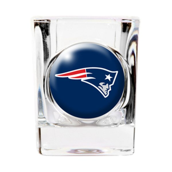 Patriots 2oz. Crystal Shot Glass