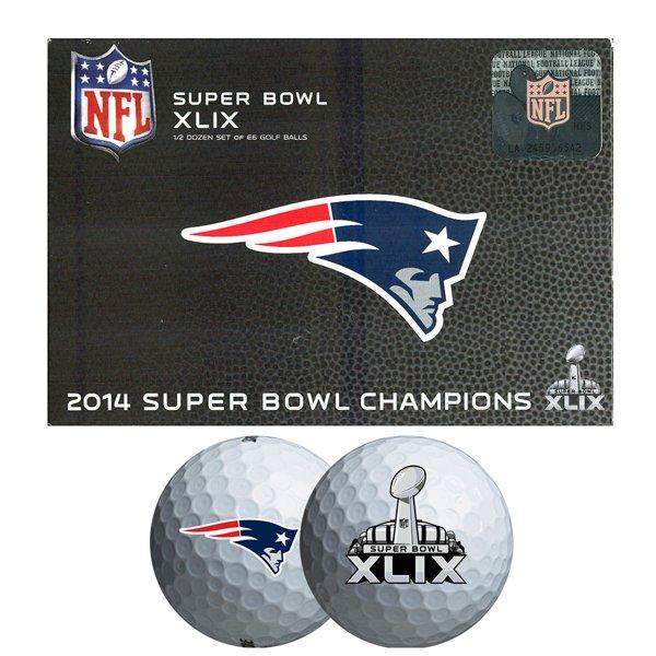 Super Bowl XLIX Champions Bridgestone E6 Balls-6pk