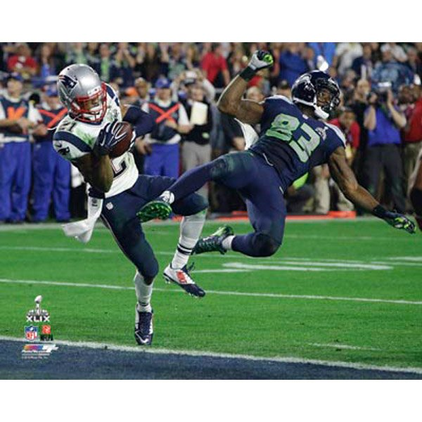Super Bowl XLIX Butler Interception 8x10 Photo