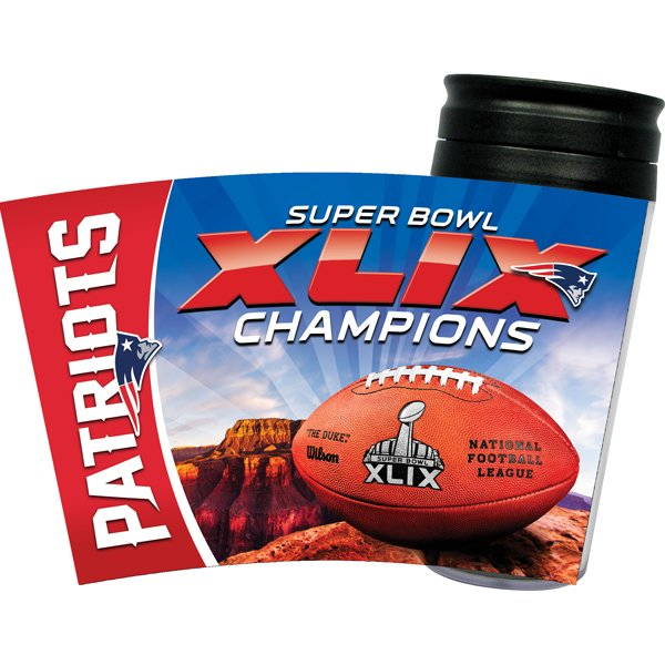 Super Bowl XLIX Champs 16oz Travel Tumbler
