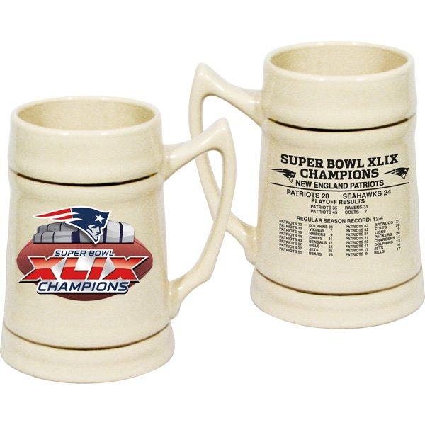 Super Bowl XLIX Champs 24oz Stein