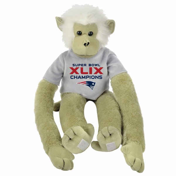 Super Bowl XLIX Champions 27 Inch Monkey