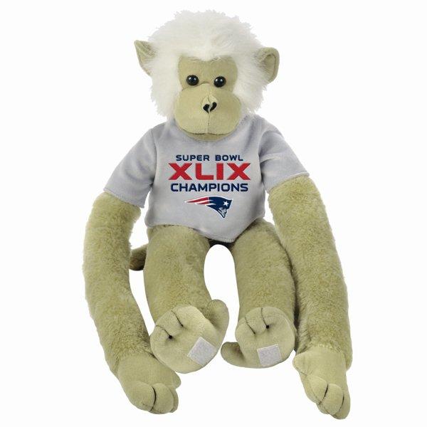Super Bowl XLIX Champions 27 Inch Monkey
