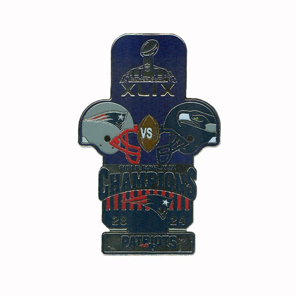 Super Bowl XLIX Champions Lapel Pin