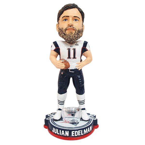 Edelman Super Bowl XLIX Champions Bobblehead