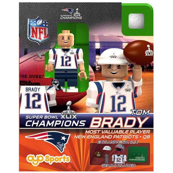 Super Bowl XLIX Champion Tom Brady Oyo Figure