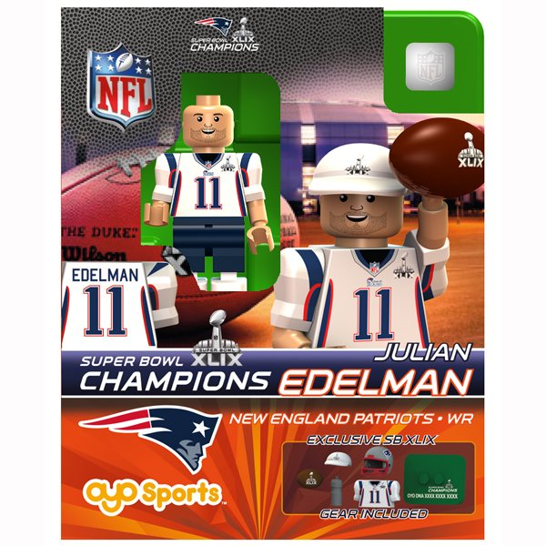 Super Bowl XLIX Champion Julian Edelman Oyo Figure
