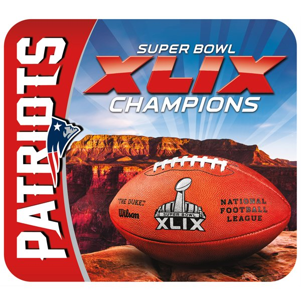 Super Bowl XLIX Champs Mousepad