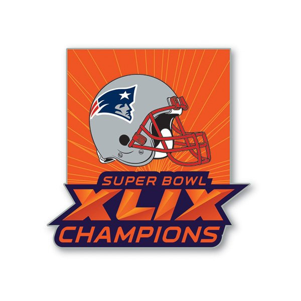 Super Bowl XLIX Champs Pin