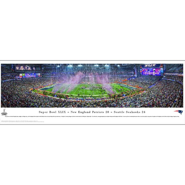 Super Bowl XLIX Champions Panorama
