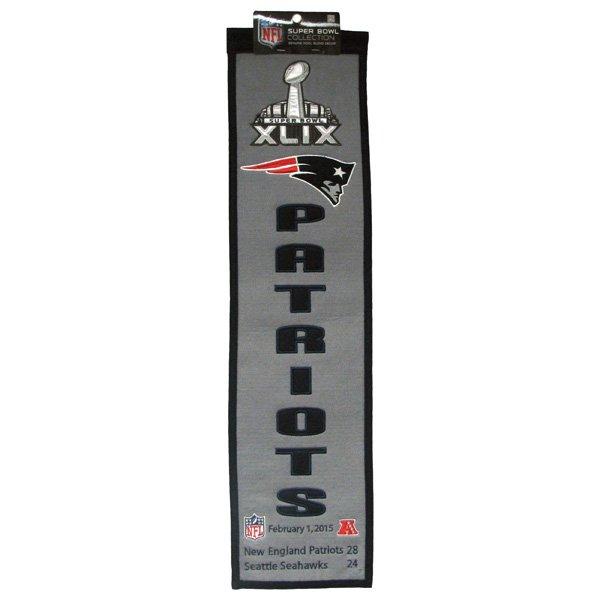 Super Bowl XLIX Commemorative Banner