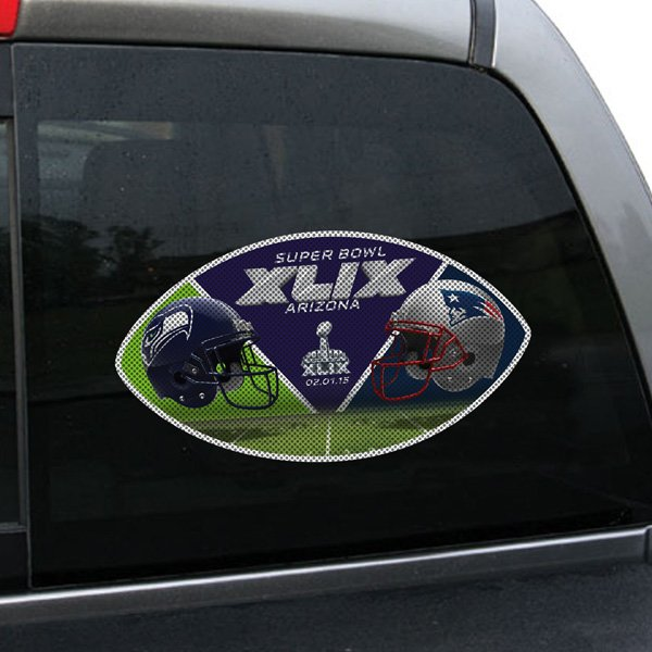 Super Bowl XLIX Dueling Window Film