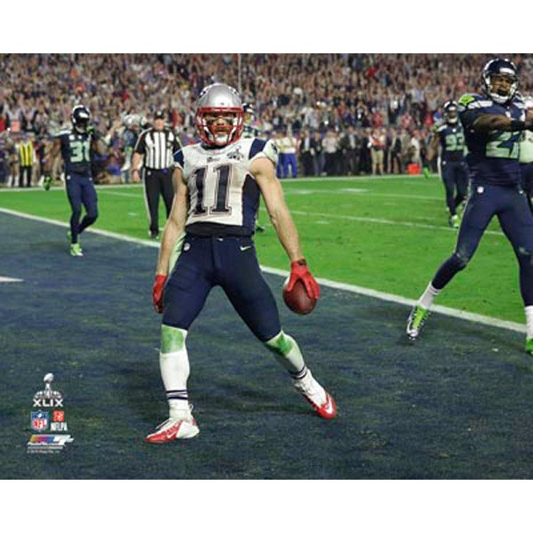 Super Bowl XLIX Edelman TD 8x10 Photo